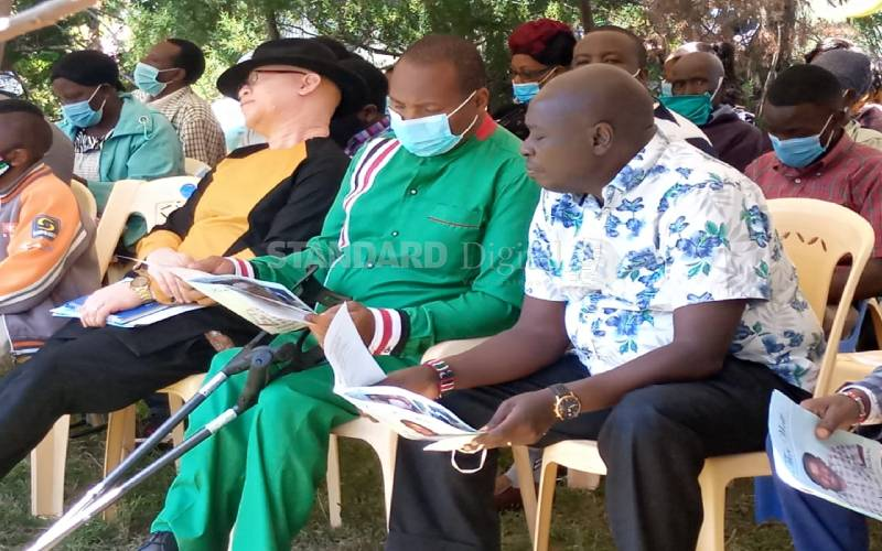 Leaders demand justice for Nyeri man killed by VIP vehicles