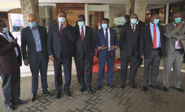 Leaders hold meet to plan afresh Uhuru succession