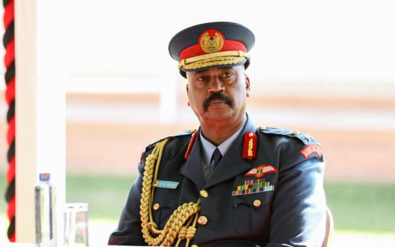 Maj Gen Badi is Nairobi Governor in all but name