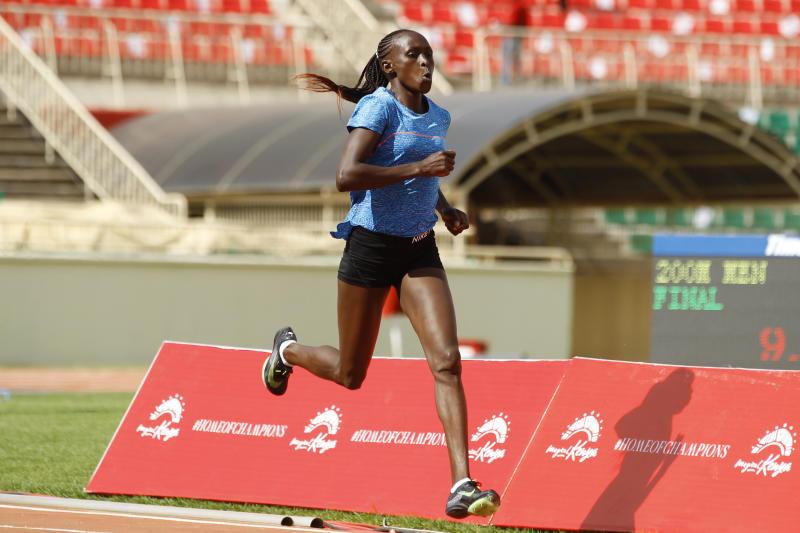 Make today's athletics meet a success