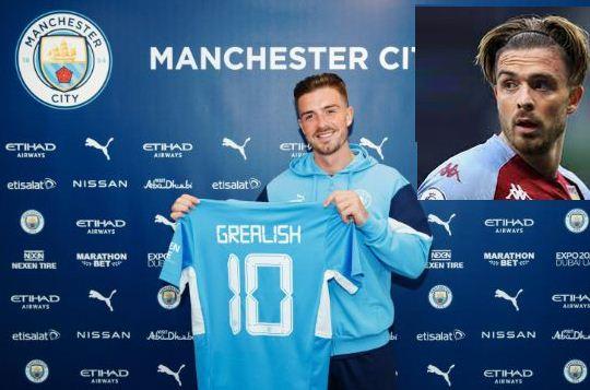 Man City sign Grealish from Aston Villa in British record Sh15 billion deal