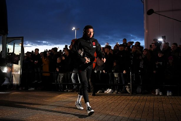 Man United and police investigating Jesse Lingard abuse. [PHOTOS]
