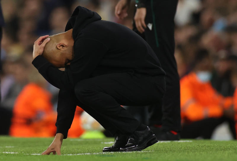 Manchester City fans tell Guardiola to stick to coaching