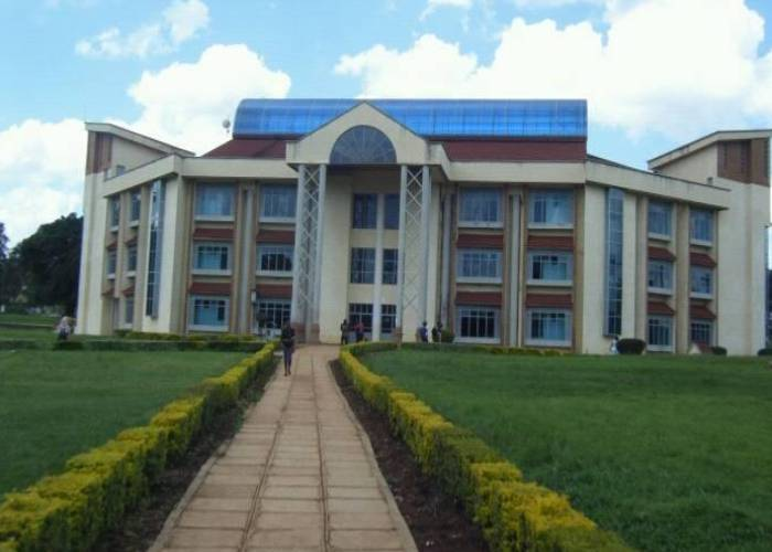 Masinde Muliro University's top administration, including VC, announced
