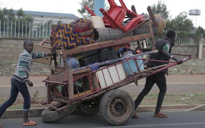 Mkokoteni economy: Nairobi's business is driven by handcarts