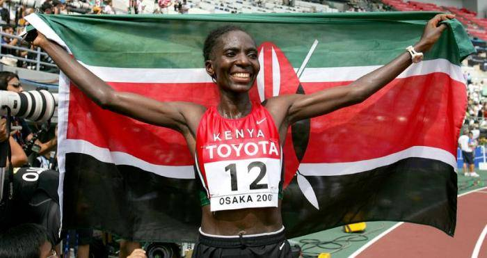 Most men who marry athletes are opportunists- Ndereba