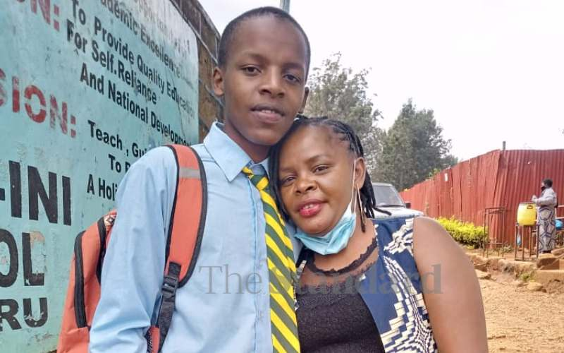Mother of boy killed in girls' secondary school speaks out