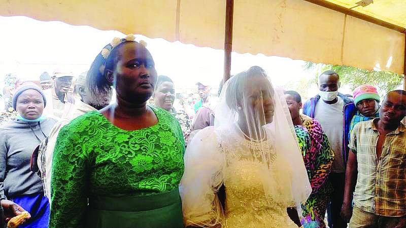 Mother of six from West Pokot 'weds Holy Spirit'
