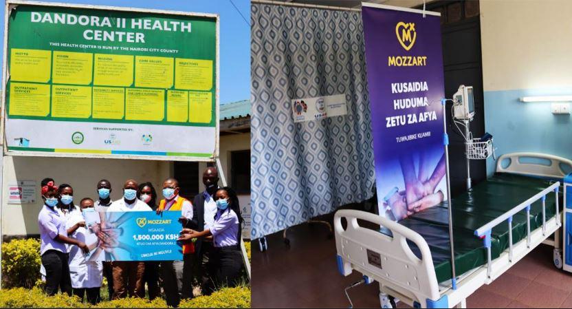 Mozzart donates ICU equipment worth Sh1.5 million to Dandora II Health Center