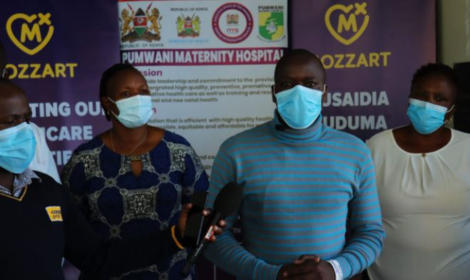Mozzart fulfills promise to Pumwani Maternity Hospital, donates medical equipment worth Sh400,000