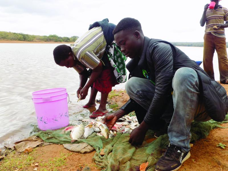 Town in Mt. Kenya where Luos, Kambas, locals fish together