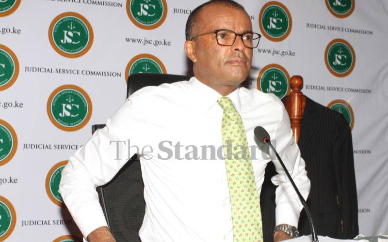 Murgor's past cited in Chief Justice interview