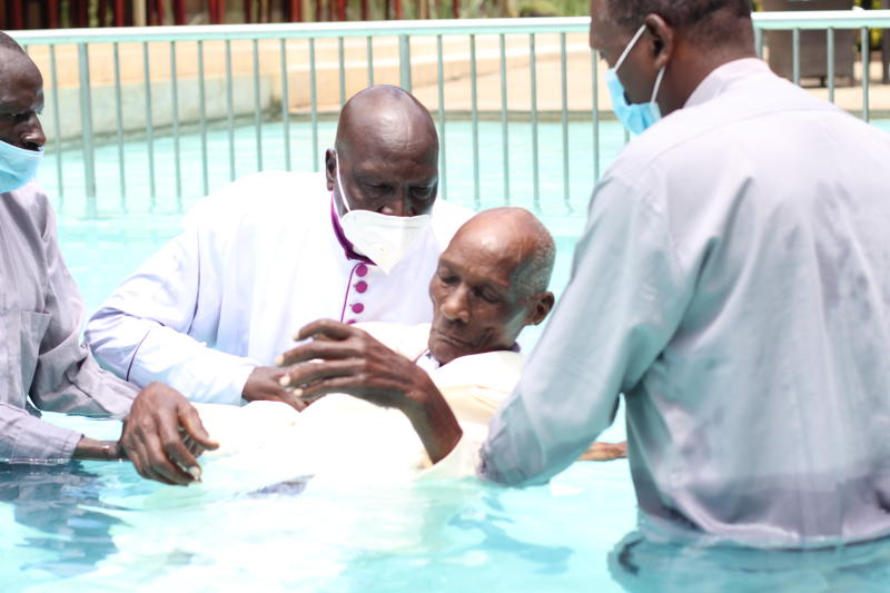 Mzee Kibor now seeks heavenly riches