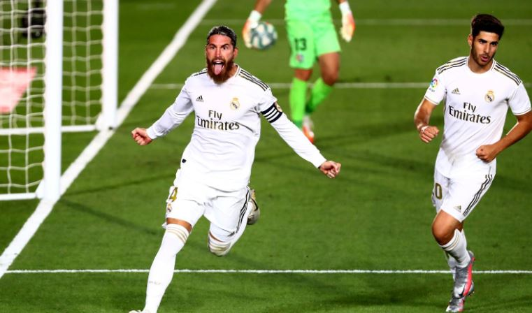 Real Madrid close on title as Ramos late show sinks Getafe : The standard Sports