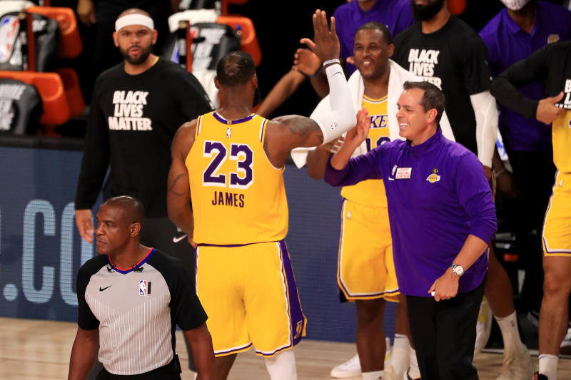 NBA-Players protest racial injustice as league returns to action