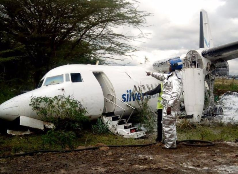 Initial reports indicate that the 60 seater plane had challenges during take-off.
