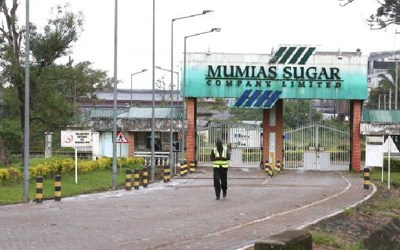 New twist in Mumias miller's lease as creditors disown deal