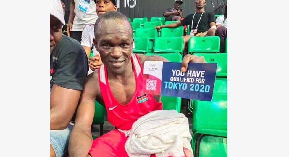 Nick Okoth's rise from slum boy to competing at the Olympic