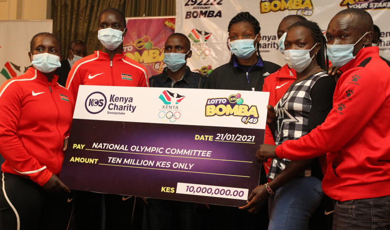 NOC-K signs deal with Kenya Charity Sweepstake