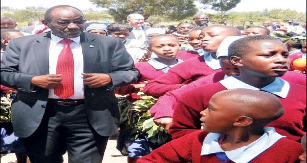 Nyandarua governor Daniel Waithaka Mwangi