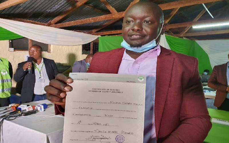 ODM's Matara wins Kiamokama Ward by-election