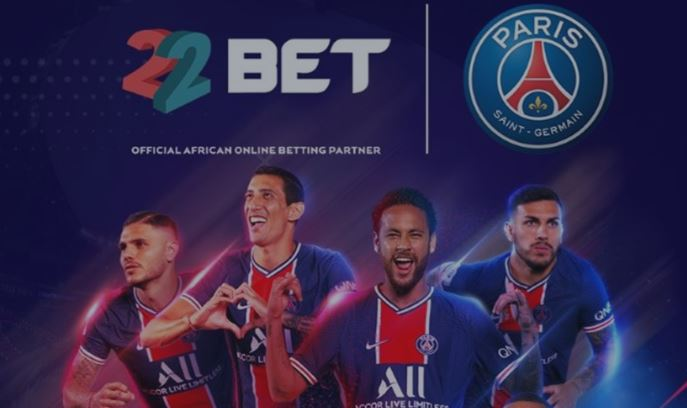 OFFICIAL: 22BET becomes PSG's online betting partner in Africa