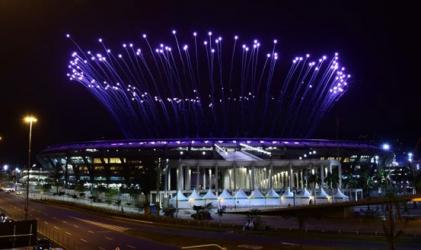 Olympics opening ceremony rehearsal