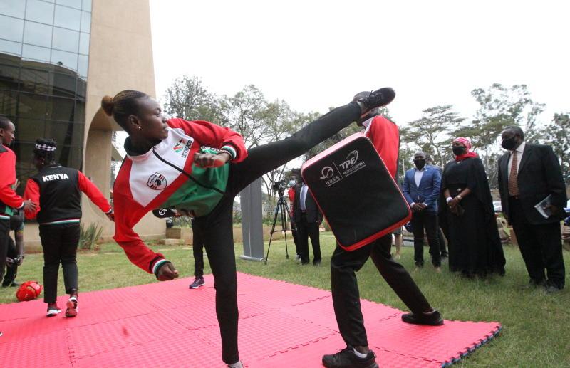 Olympics: Korean Embassy donates sports equipment to Kenya Taekwondo Federation
