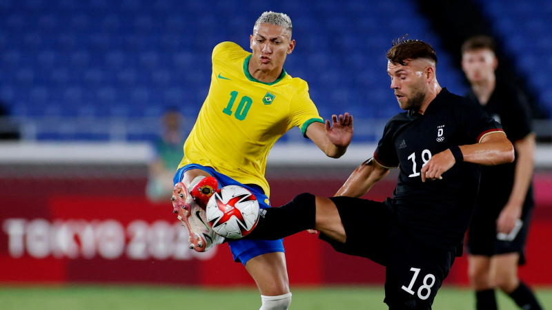 Olympics: Richarlison hits hat-trick as Brazil beat Germany