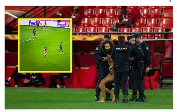 Granada vs Man Utd: Police give details of naked pitch invader
