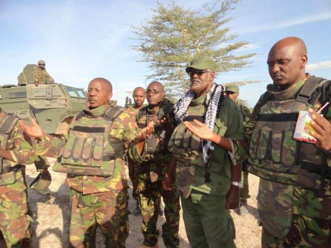 Prayer warrior: KDF priest fights militia with the Bible and the gun