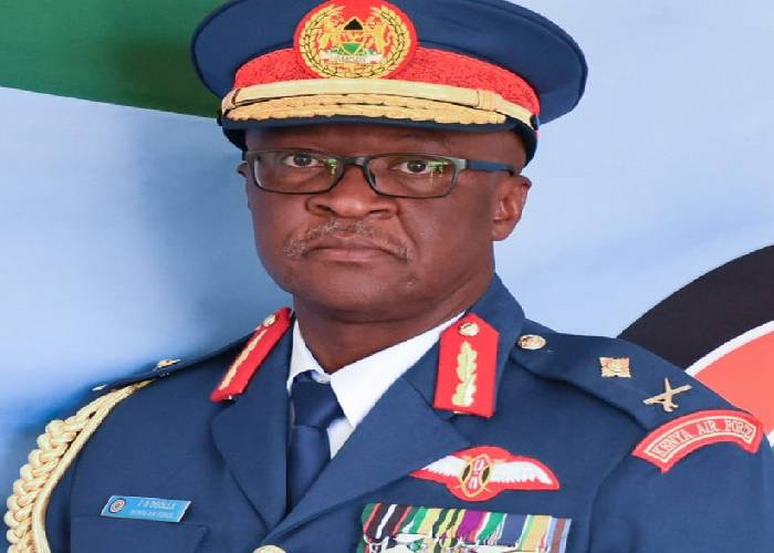President Uhuru promotes Maj. Gen Ogolla, appoints him Vice Chief of Defence Forces