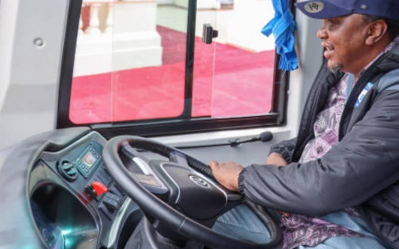 President Uhuru Kenyatta donates 10 buses to schools, community institutions