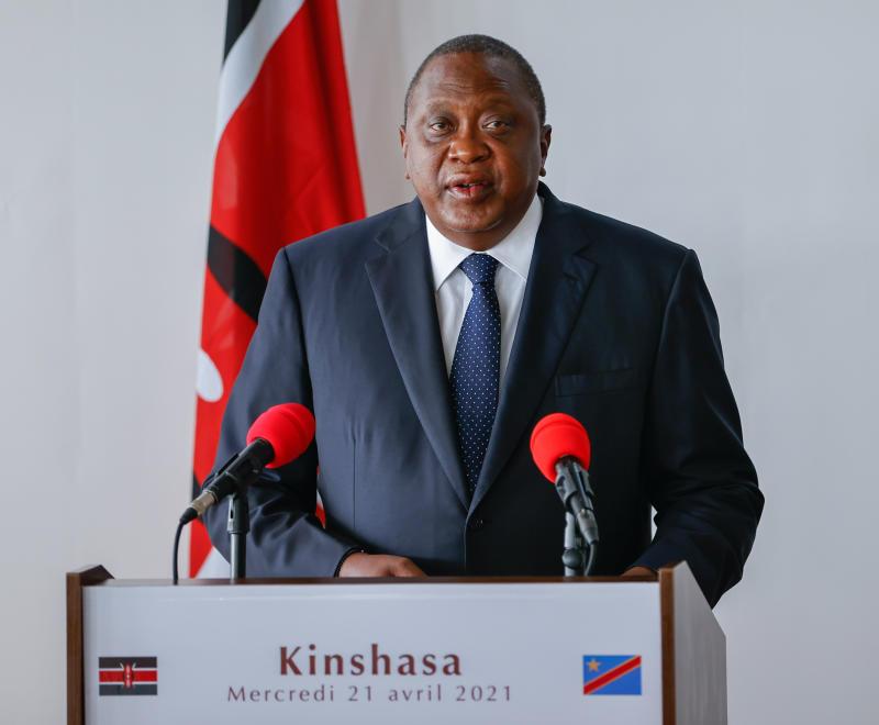 President Uhuru's weight is no laughing matter