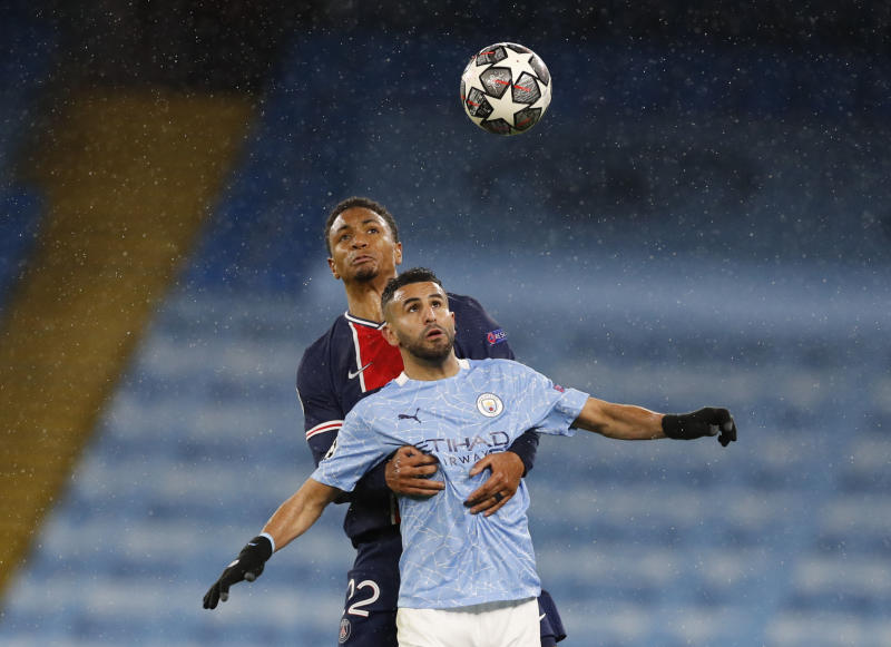 Pressure is on Chelsea, says Manchester City's Mahrez