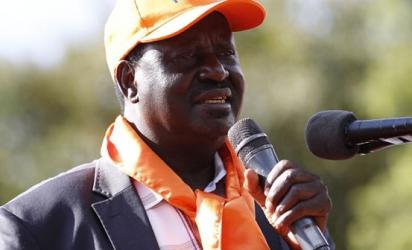 Raila forced to flee as rowdy youths disrupt Turkana rally