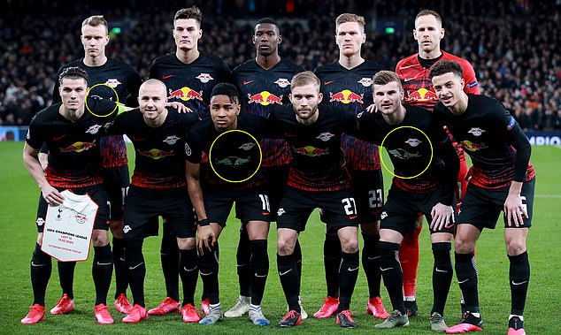 RB Leipzig manager reveals why some of his players wore different ...