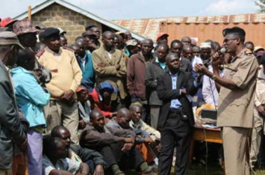 Red flag raised as residents of volatile Mt Elgon grapple with fresh tussle over land