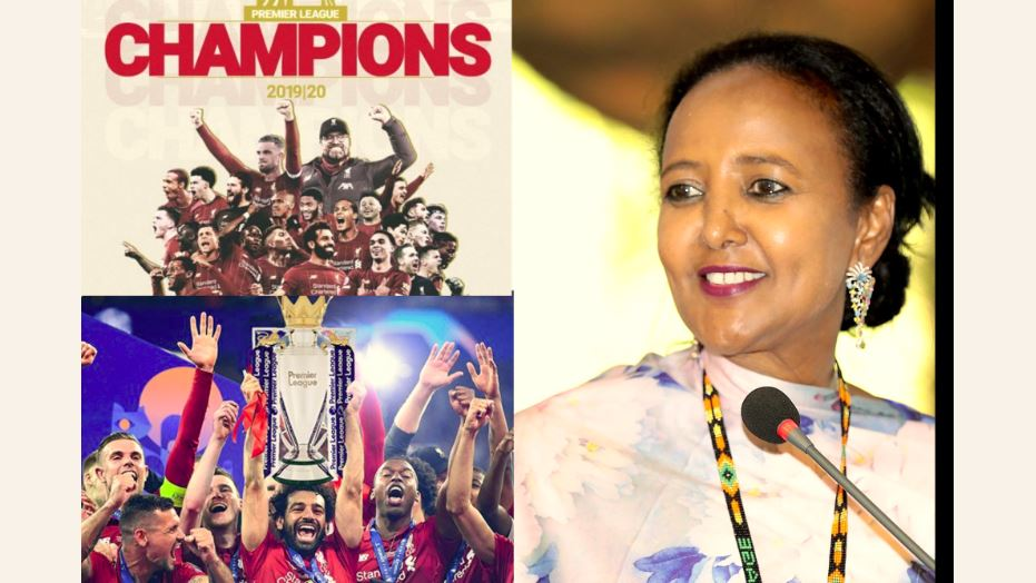 Revealed: Sports CS Amina Mohamed is a Liverpool fan