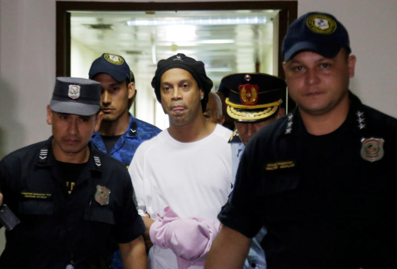 Ronaldinho set to be freed on 24 August after five months of detention in Paraguay
