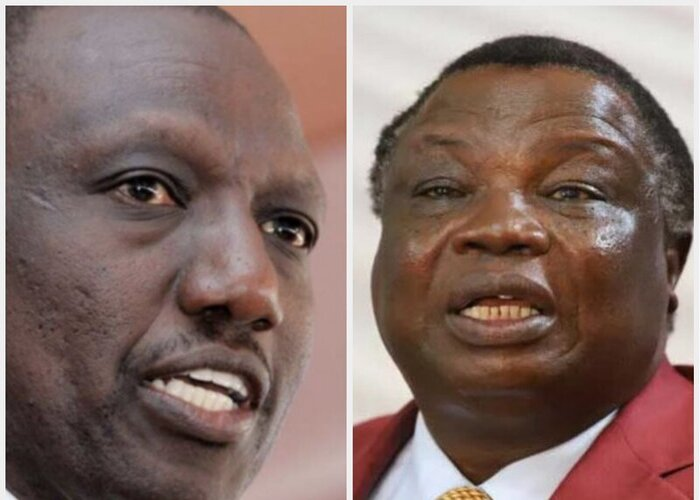 Ruto, Atwoli differ on BBI shock ruling