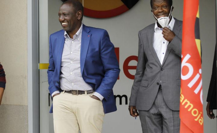 Ruto could be creating his path out of Jubilee
