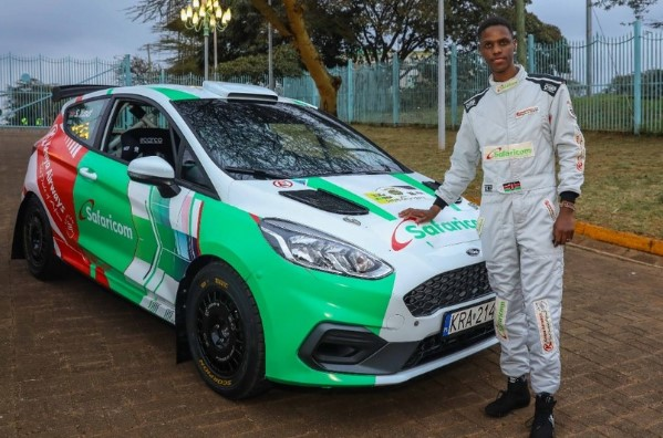 Safari Rally: Young Kimathi excited ahead of Safari Rally after his new toy unveiled by President Kenyatta