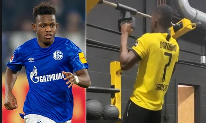 Schalke 04 winger Matondo apologises to fans after he was pictured wearing Dortmund Shirt