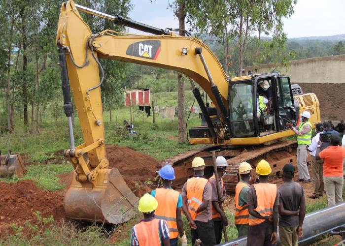 Sh580m water project in Oyugis to serve 73,000 households