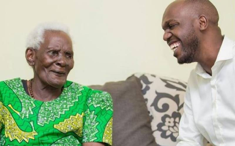 She would wave at the screen whenever she saw me: Larry Madowo eulogises grandma
