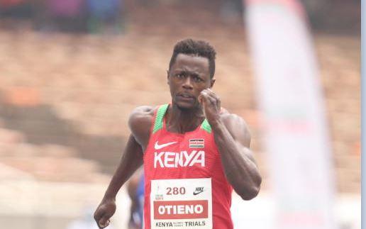 Sprinter Mark Otieno provisionally suspended by Athletics Integrity Unit