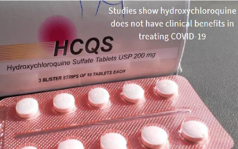 Study: Hydroxychloroquine does not have clinical benefits in treating Covid-19