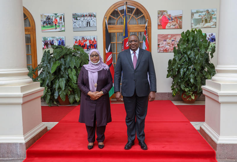 Suluhu offers solution to chilly Nairobi, Dar relations