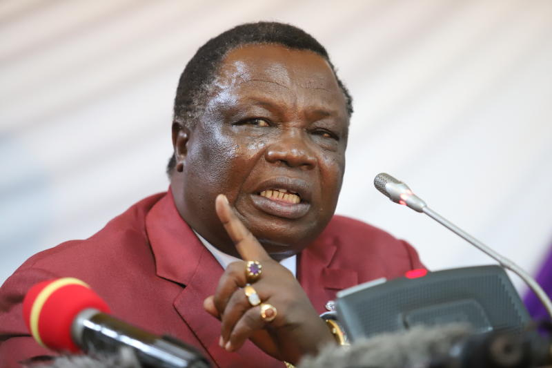 Atwoli backs Khalwale's ejection from Ford Kenya - The Standard